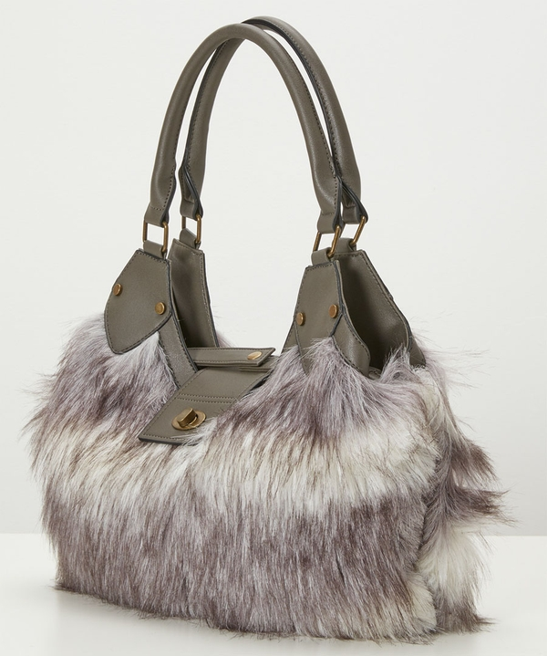 Anastasia Faux Fur Bag