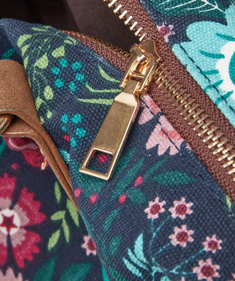 Floral Fantasy Day Bag Back