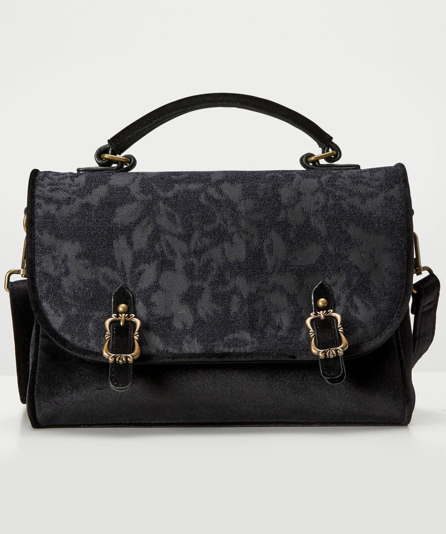 Enchanted Night Devore Bag Model Front