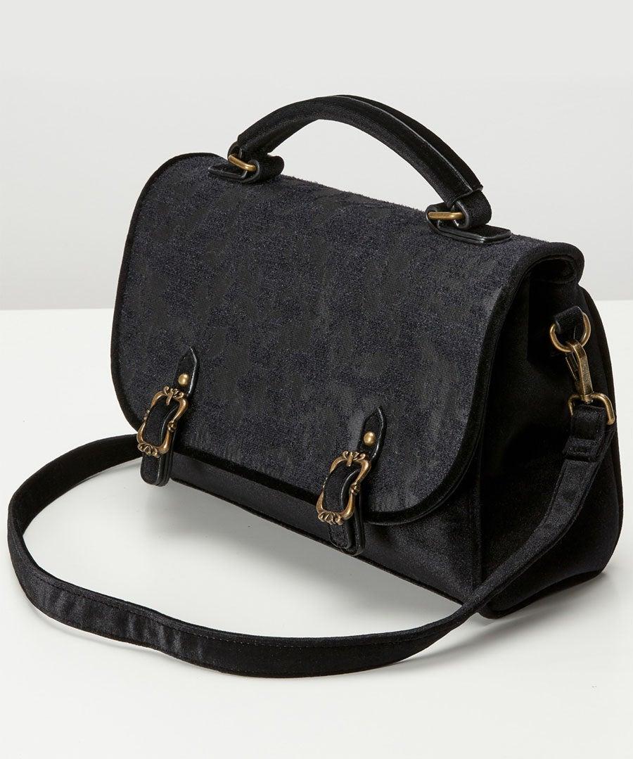Enchanted Night Devore Bag Model Back