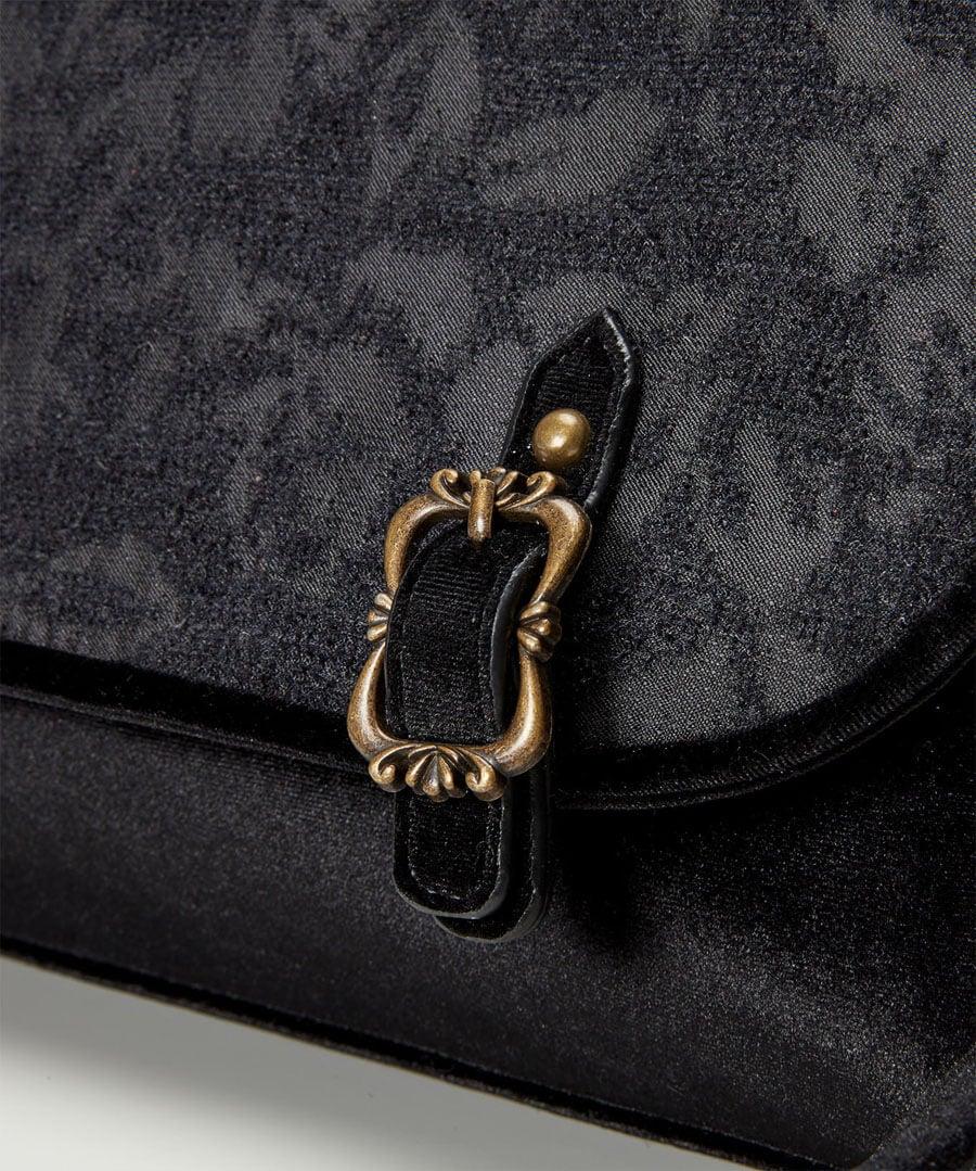 Enchanted Night Devore Bag Back