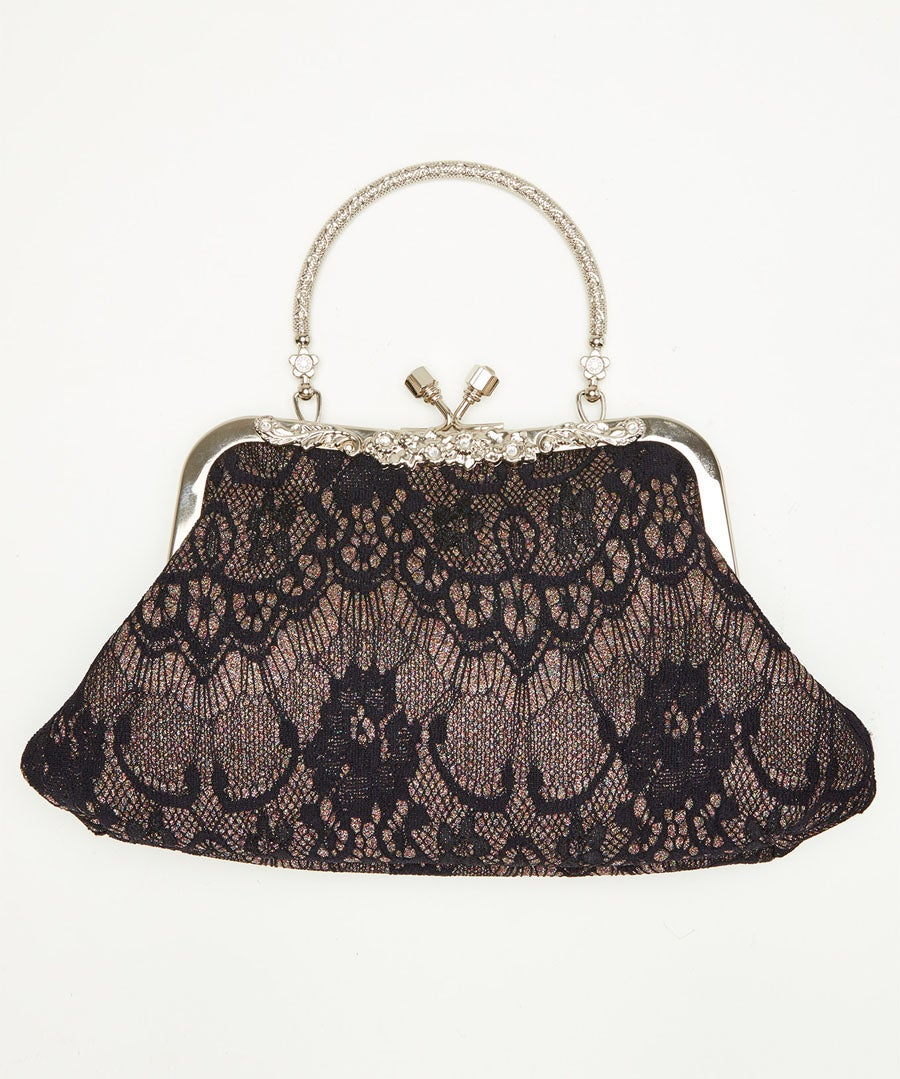 Lavish And Lacey Evening Bag Model Front