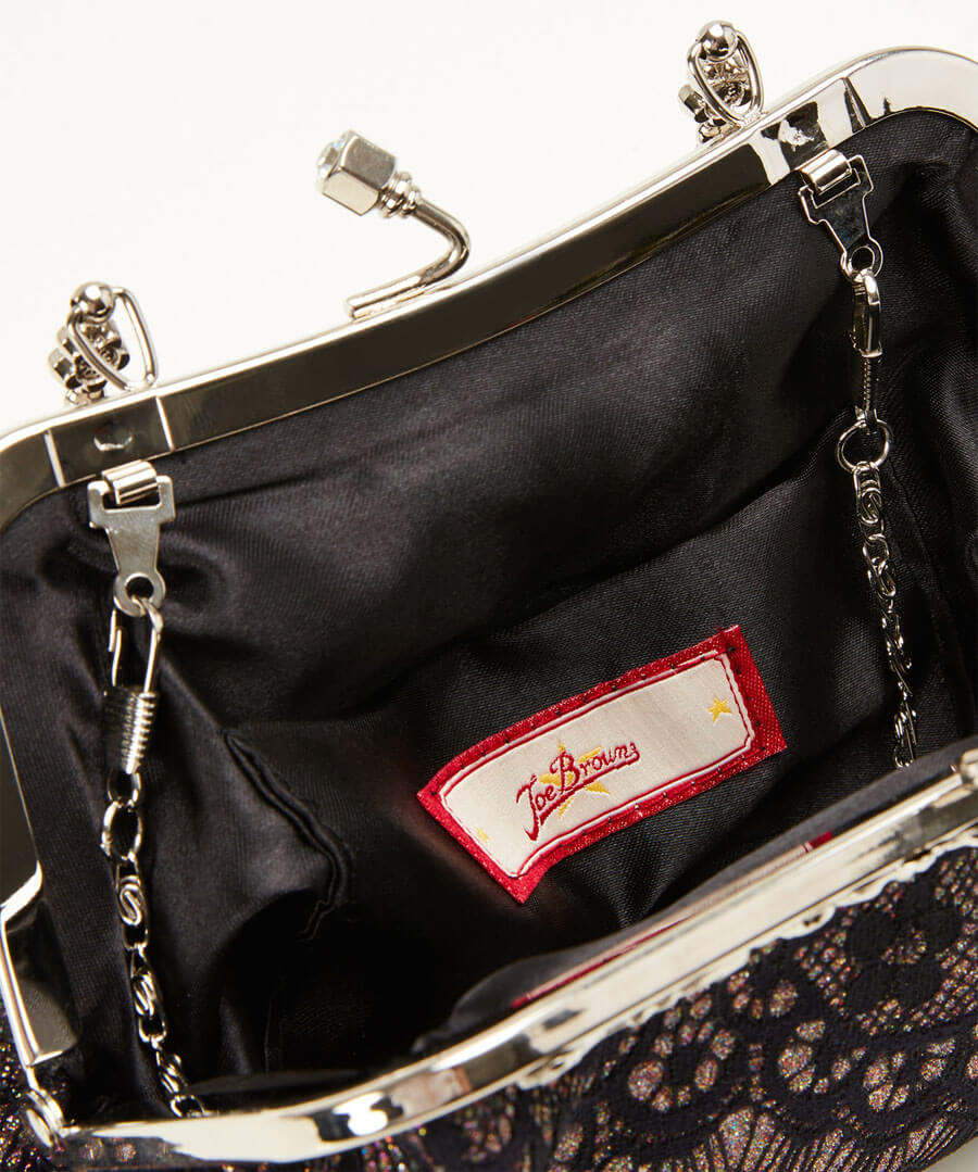 Lavish And Lacey Evening Bag Back