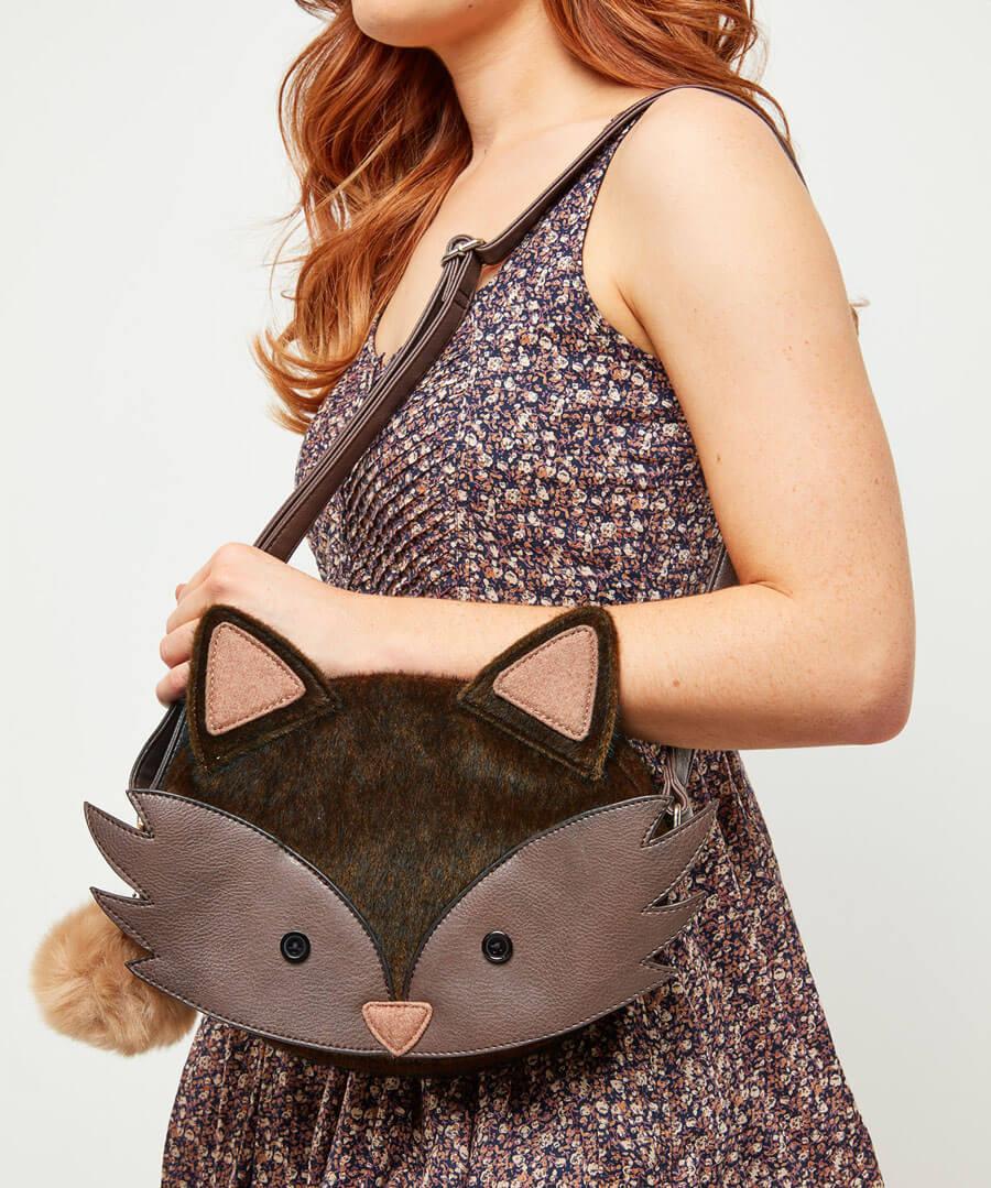 Foxy Foxy Bag Model Back