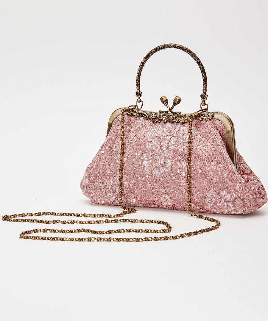 La Vie En Rose Bag Model Front