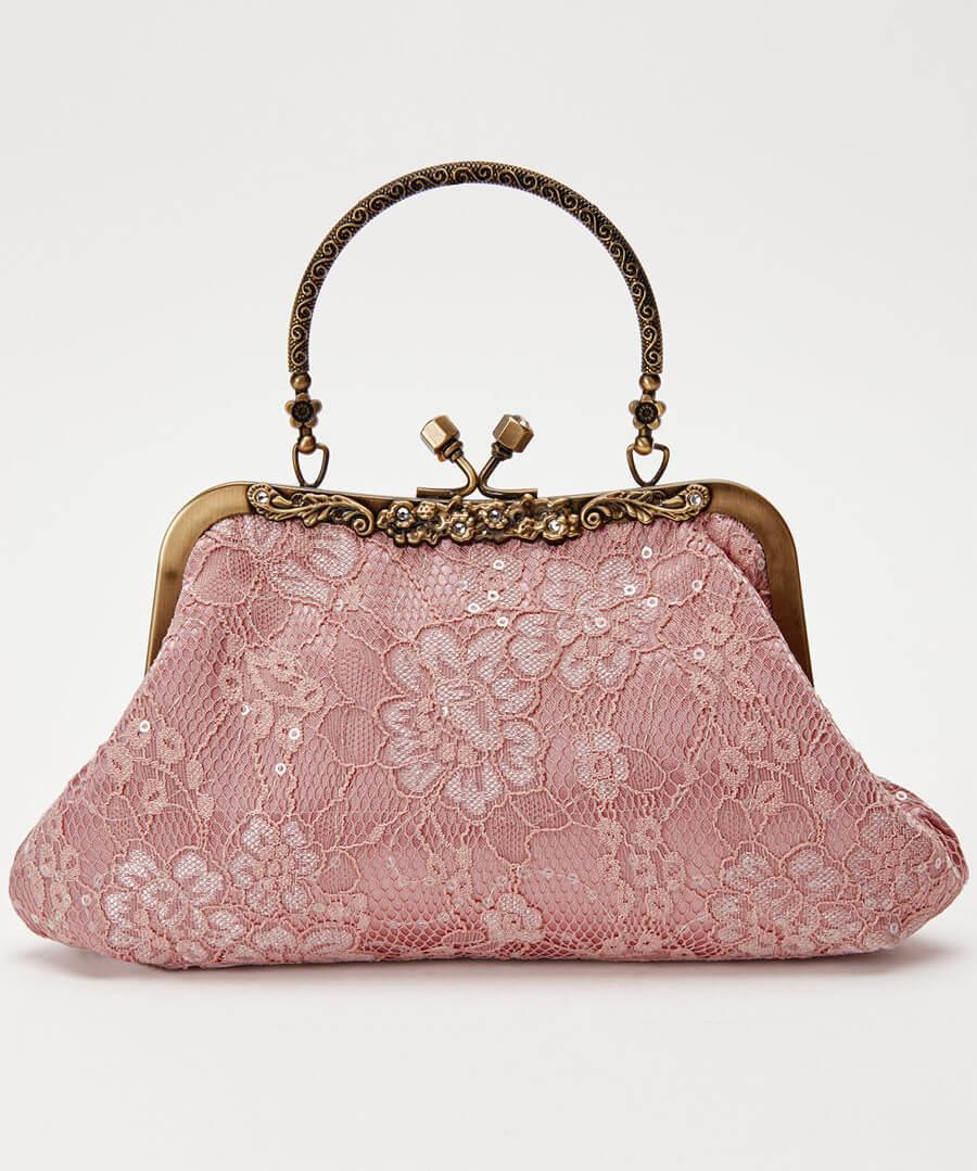 La Vie En Rose Bag Model Back