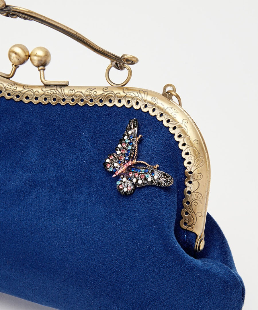 Butterfly At Dusk Bag Model Back