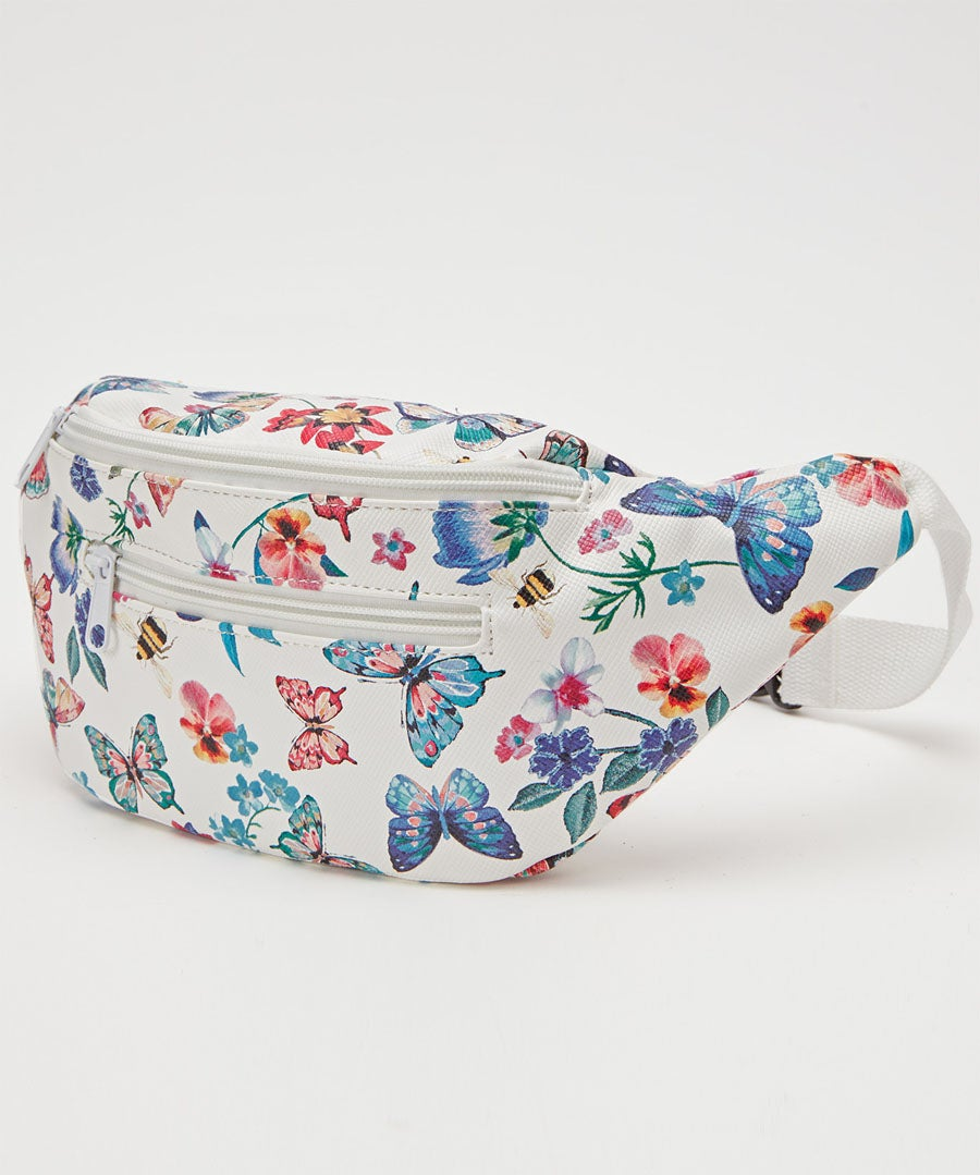 Pretty Butterfly Bum Bag Model Front