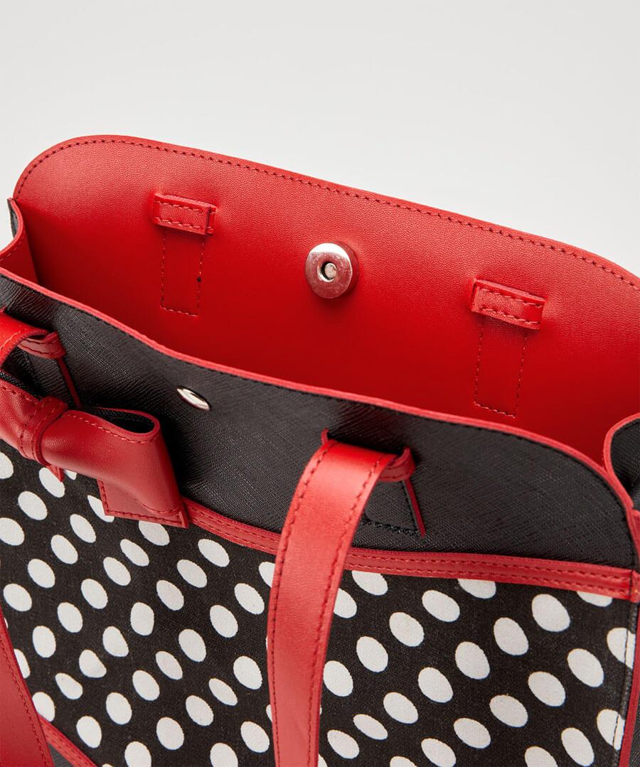 Bettys Polka Dot Bag Back