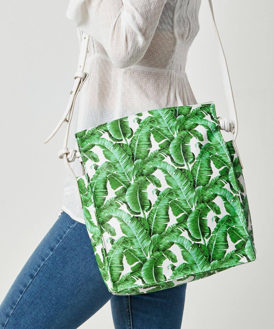 Palm Breezes Bag Model Back