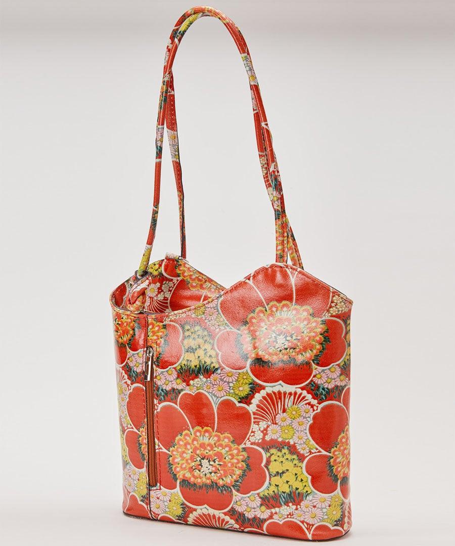 Art Park Leather Bag Model Front