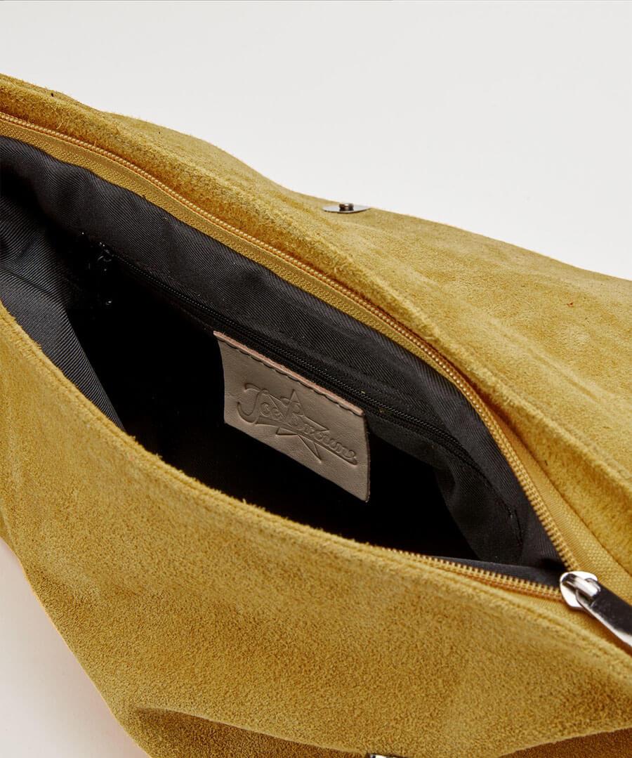 Romola Suede Tassel Bag Back