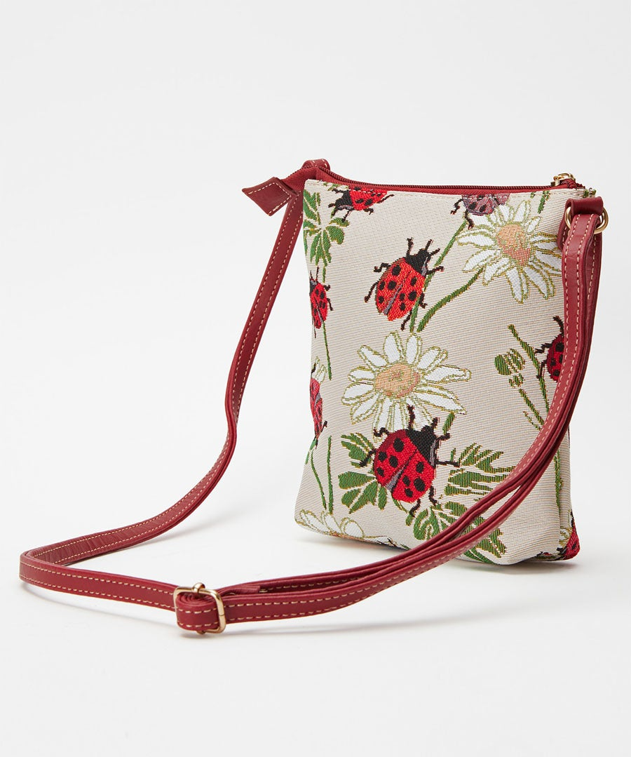 Ladybird Tapestry Bag Model Front