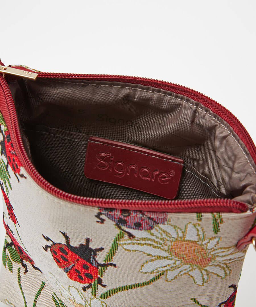 Ladybird Tapestry Bag Back