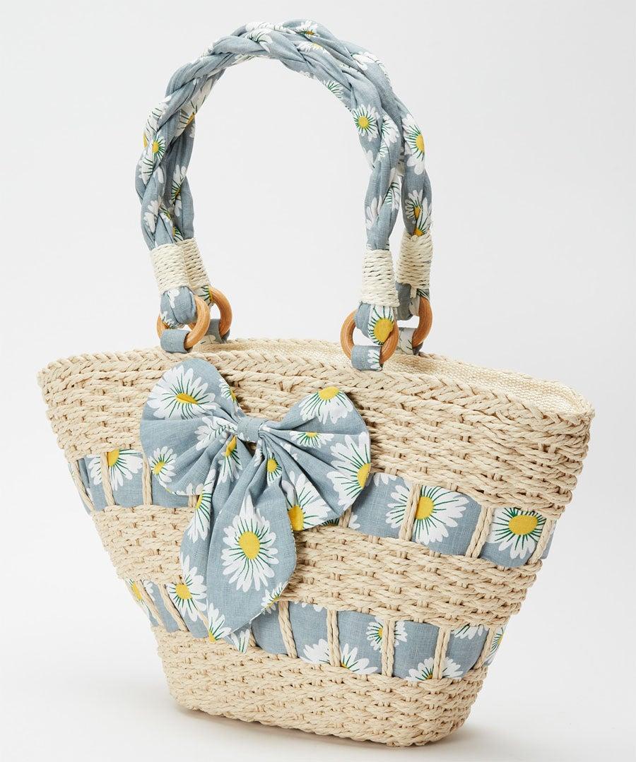 Oh Daisy Daisy Summer Bag Model Front