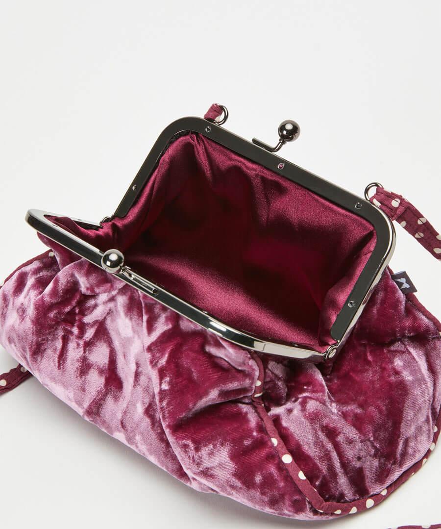 Silk Velvet Vintage Style Bag Back