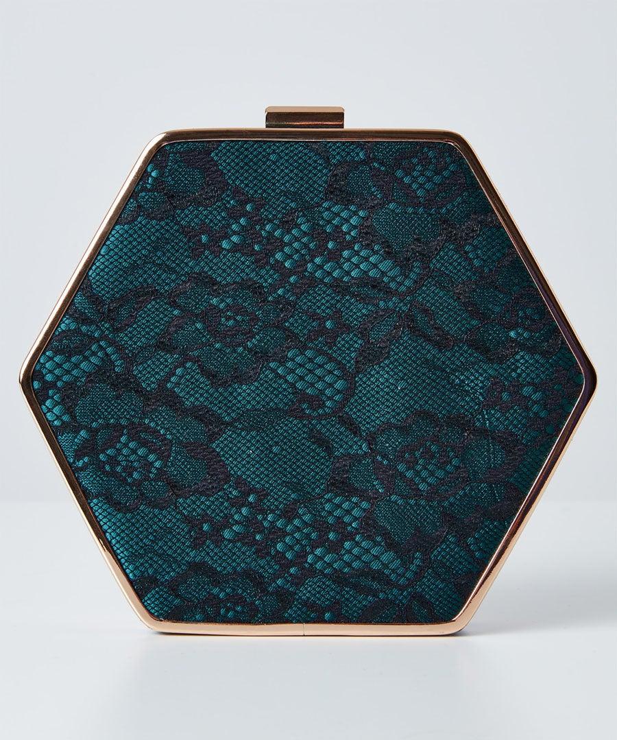 Starlet Lace Evening Bag Model Front