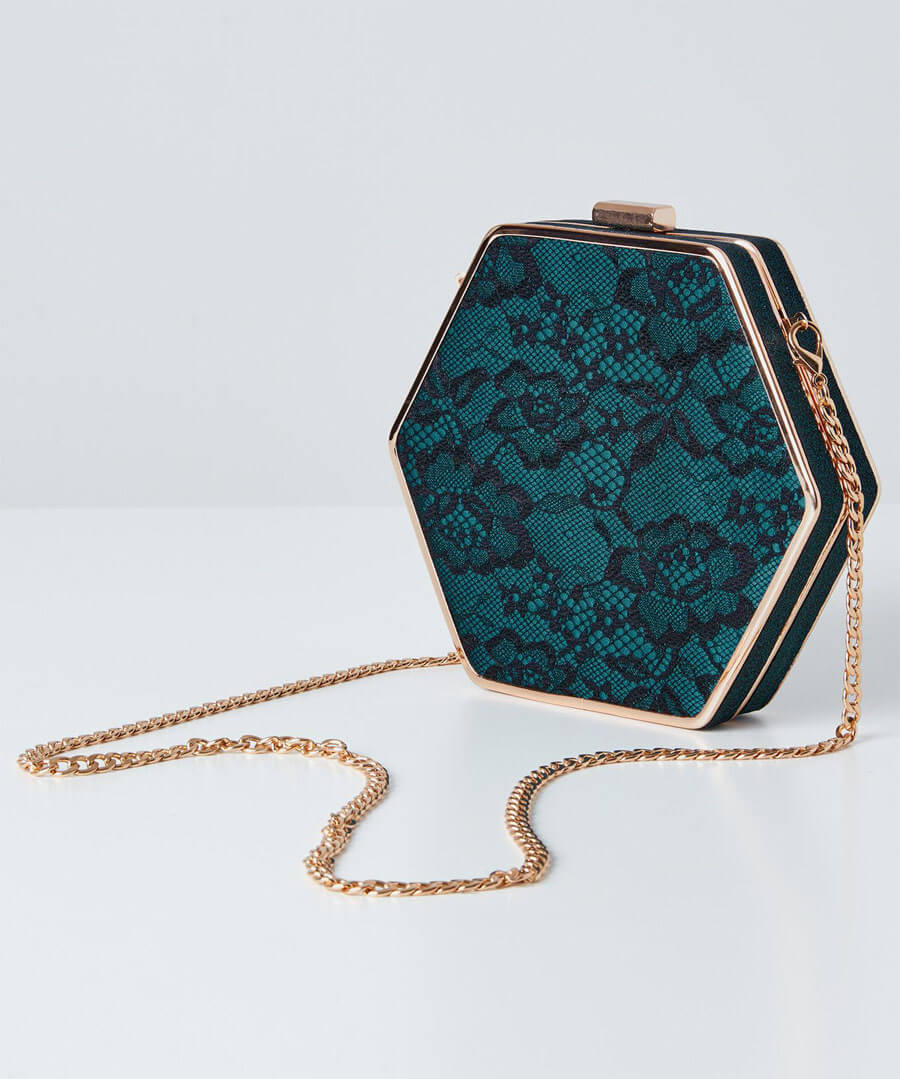 Starlet Lace Evening Bag