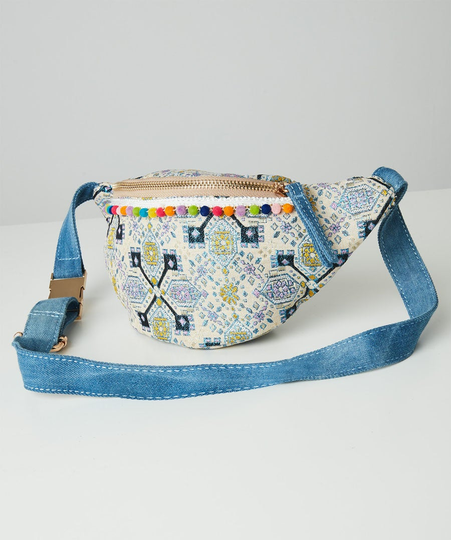 Aziza Couture Bum Bag Model Front