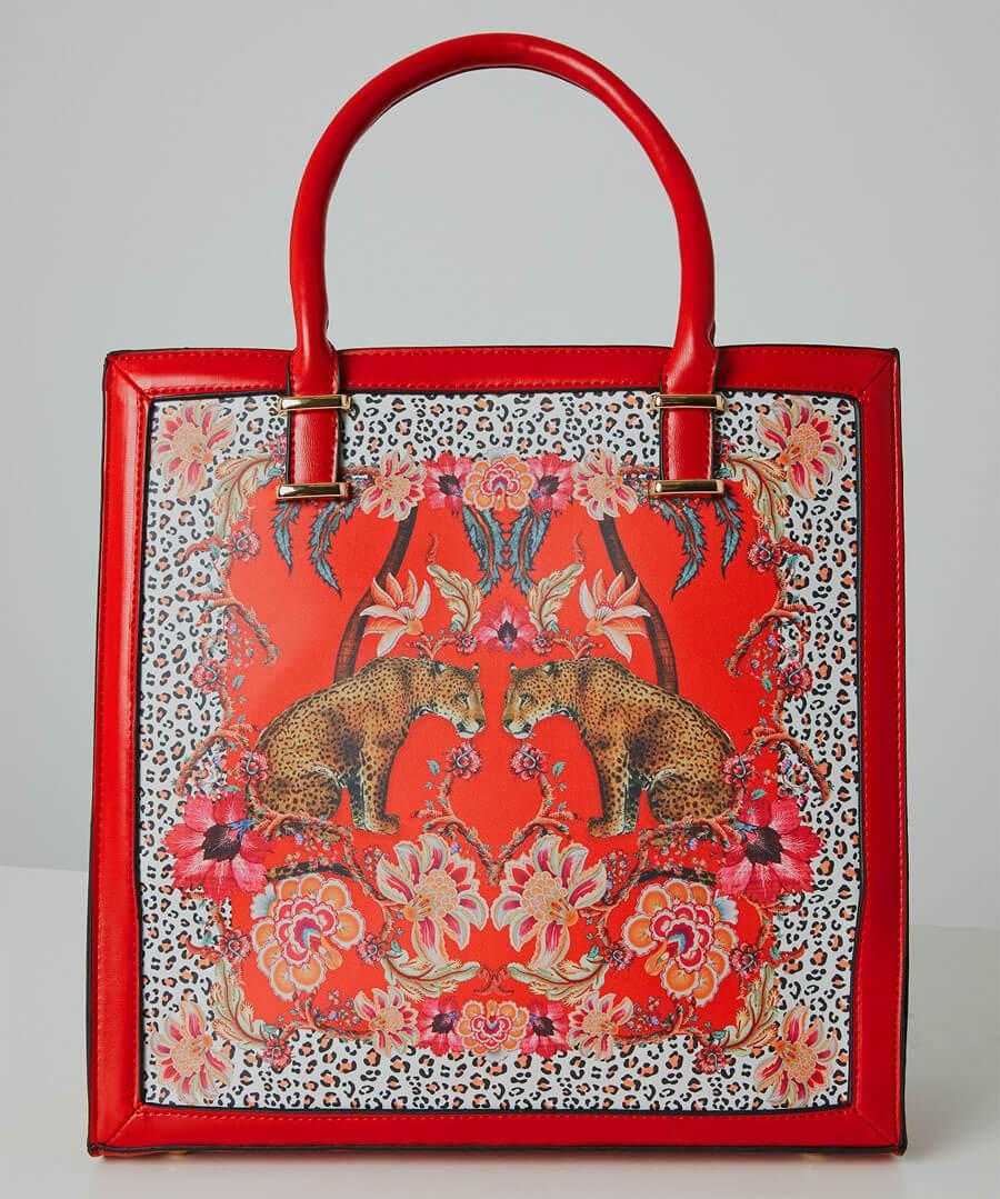 Borneo Leopard Bag Model Back