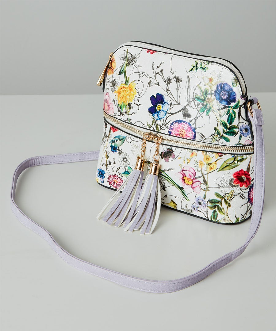 Valley Of The Flowers Bag Model Front