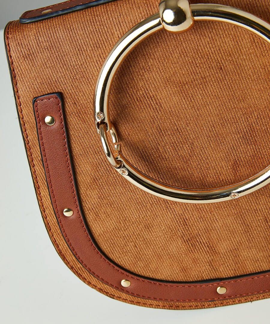 Studded Saddle Bag Back