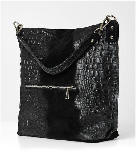 Medici Suede Leather Bag
