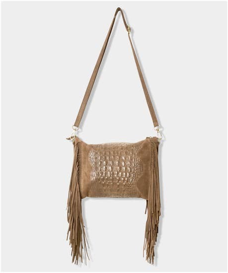 Lucrezia Suede Leather Bag