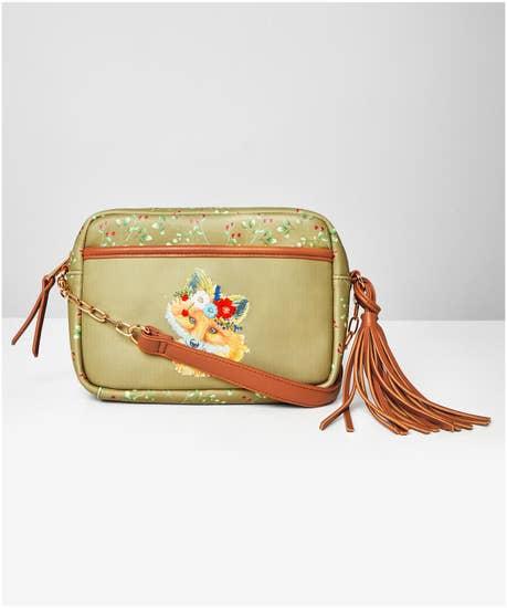 Foxy Embroidered Bag