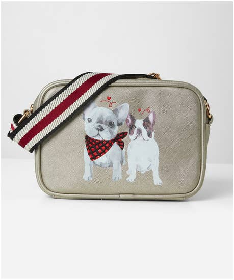 Frenchie Connection Embroidered Bag