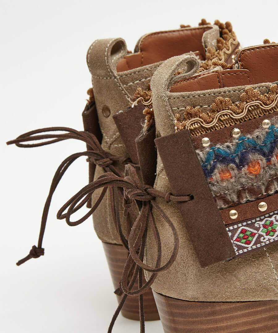 Funky Boot Cuffs Back