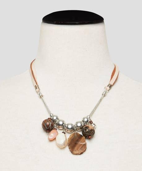 Maldives Stone Necklace