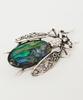 Art Nouveau Bug Brooch