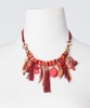 Stop And Look Beaded Necklace