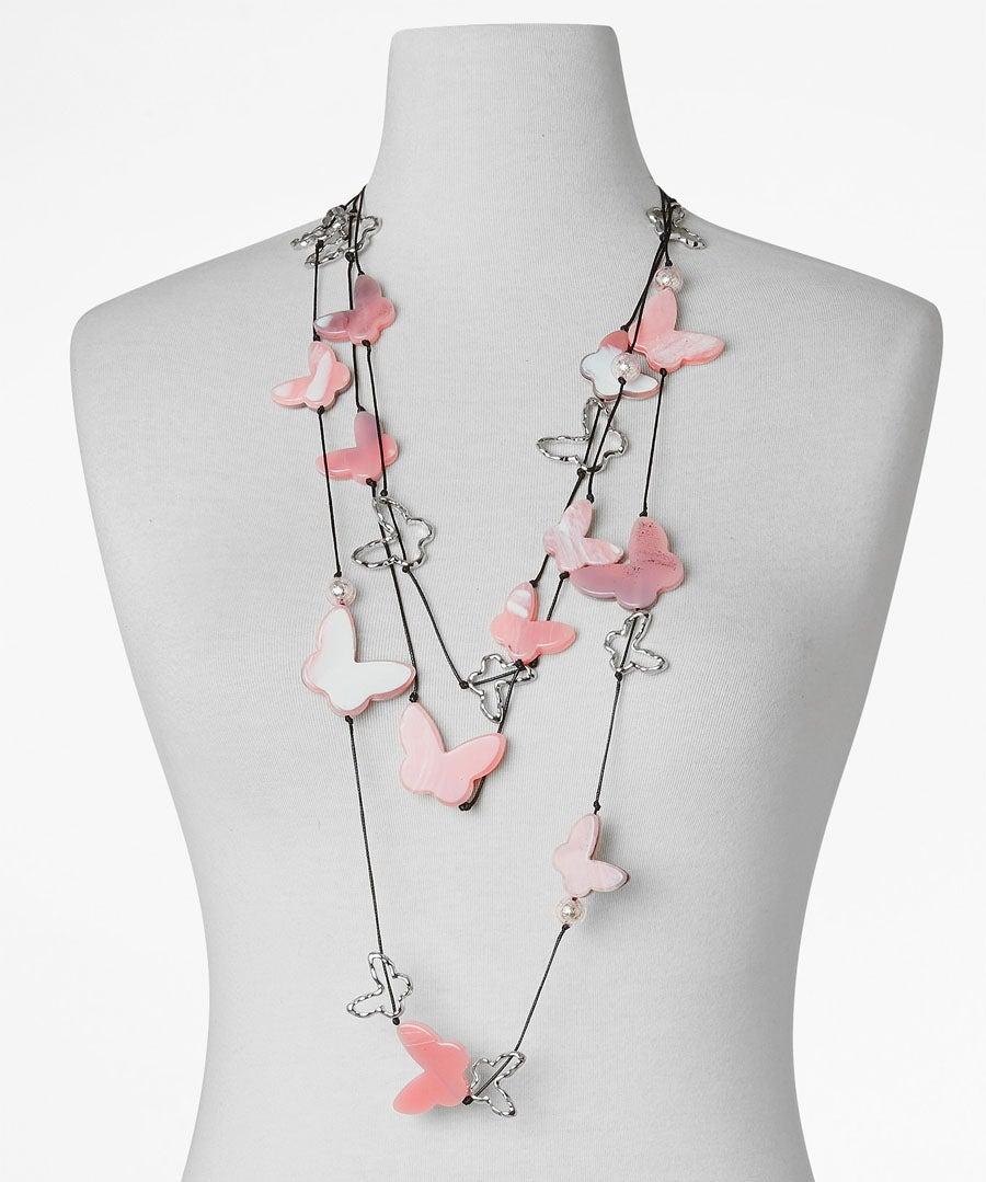 Fluttering Butterflies Necklace