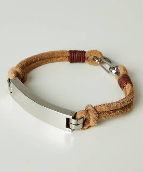 Signature Leather Bracelet