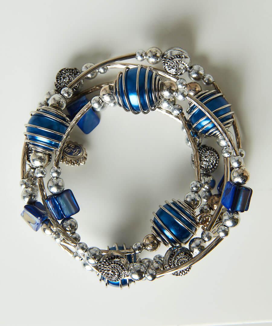 Dalaman Spiral Bangle Model Back