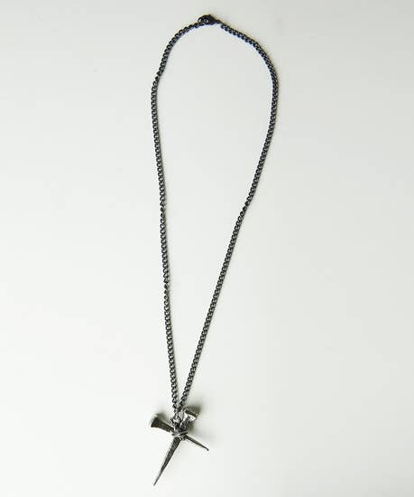 Pewter Cross Chain