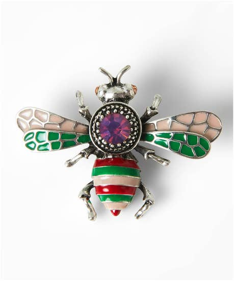 Vintage Style Bee Brooch