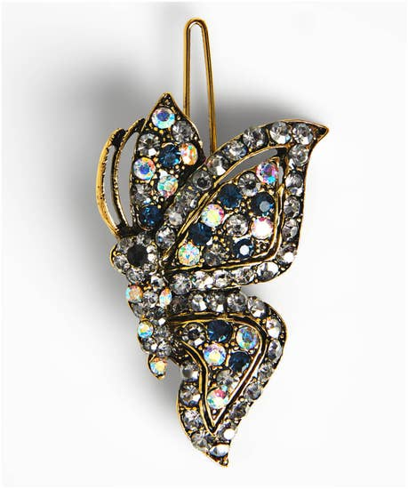 Vintage Style Butterfly Hair Clip