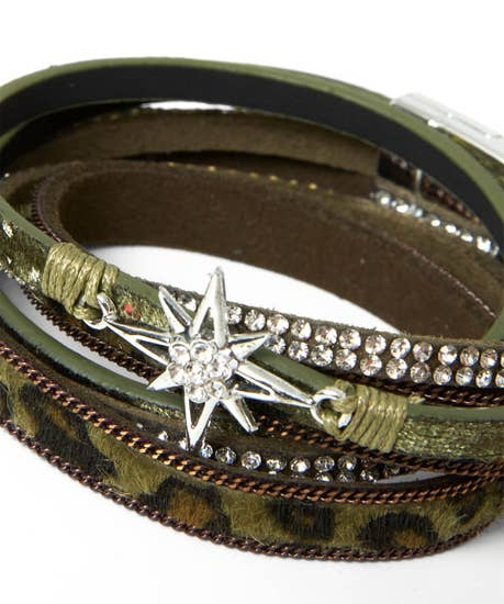 Star Gazer Multi Layered Bracelet