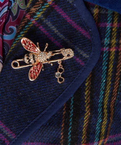Remarkable Bee Pin