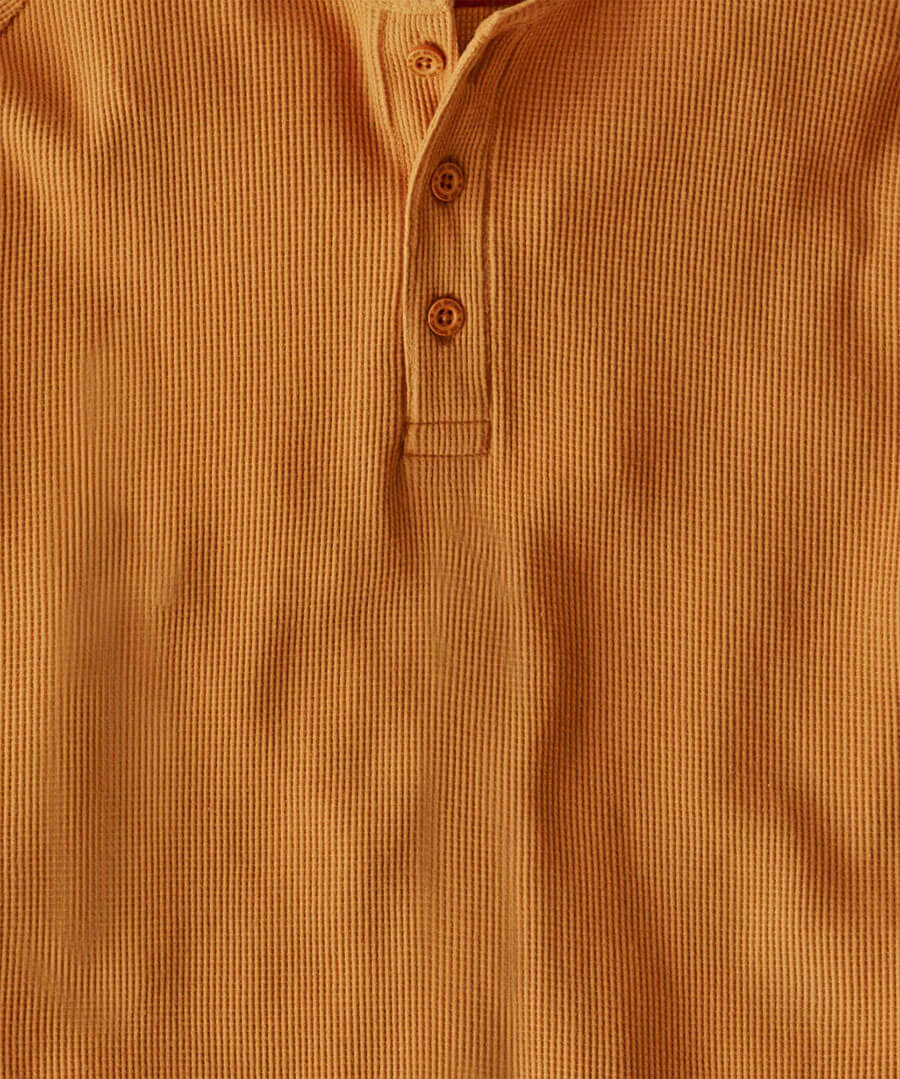 Comfortably Cool Henley Back