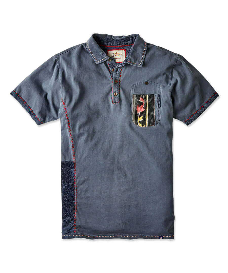 Full Of Personality Polo Back