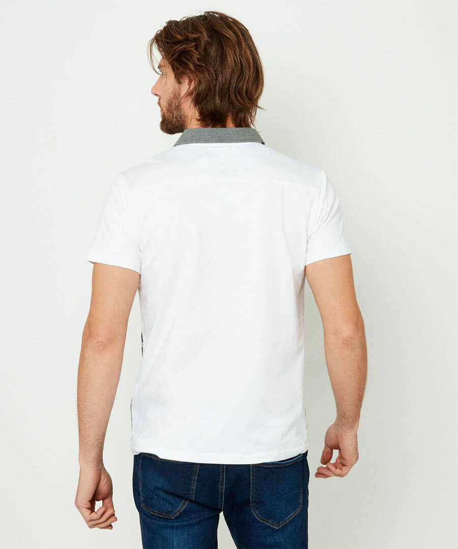 Play To Your Own Beat Polo Model Back