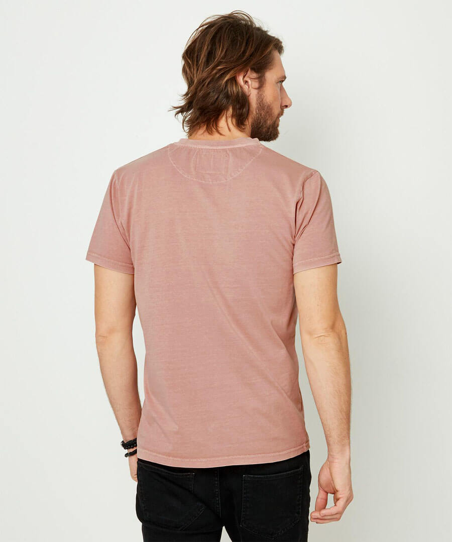 Wear With Anything Henley Model Back