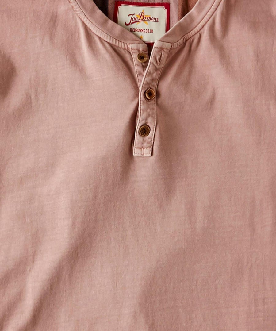 Wear With Anything Henley Back