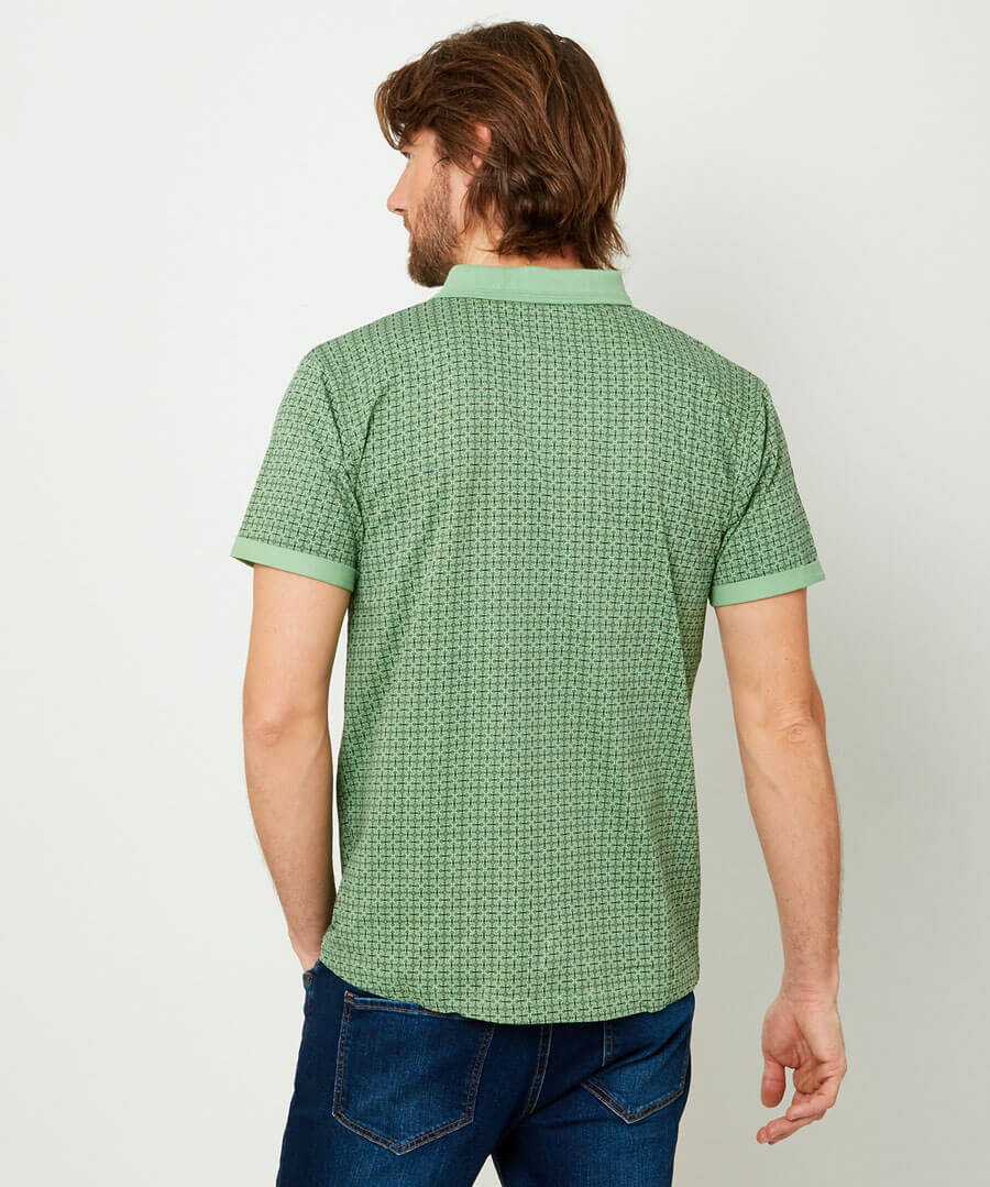 Right Side Polo Model Back