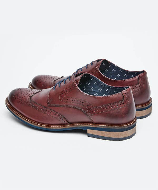 Get Smart Leather Brogues