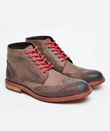Perfection Waxed Leather Boots